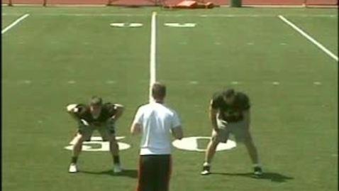 Thumbnail for entry William Paterson University Linebacker Drills