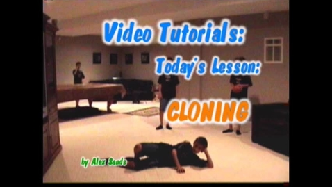 Thumbnail for entry Video Tutorial: cloning