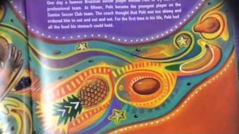 Thumbnail for entry Pelé King of Soccer - El Rey de Fútbol by Monica Brown