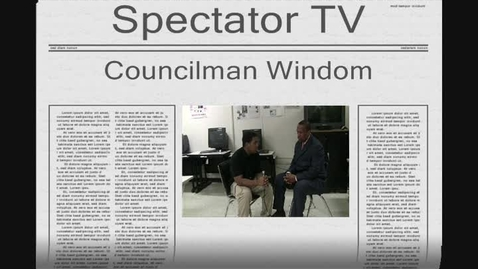 Thumbnail for entry Councilman Windom