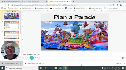 Thumbnail for entry Plan A Parade Project Instructions