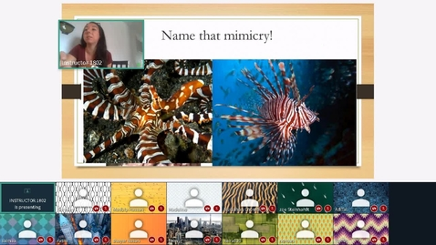 Thumbnail for entry Defense Mechanisms Live with Students