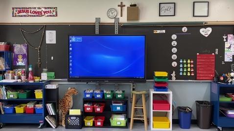 Thumbnail for entry Meet Your Teacher for 1st Grade