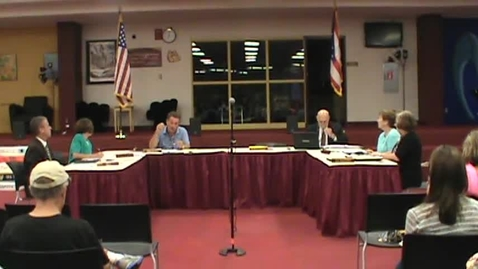 Thumbnail for entry BOE Meeting - 9/8/14, Part1