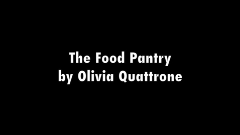Thumbnail for entry The Food Pantry