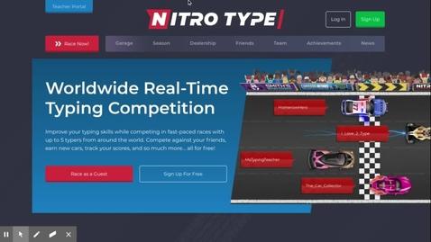 Thumbnail for entry Nitro Type Ep. 5!!