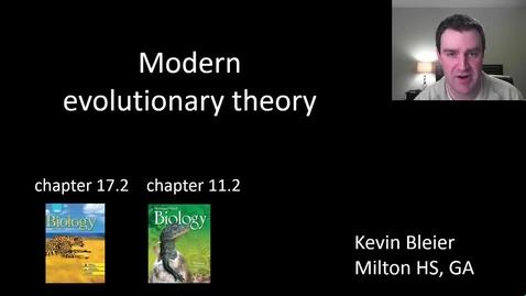 Thumbnail for entry Modernizing Darwin's evolution