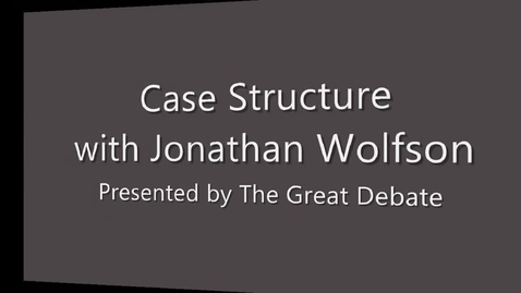 Thumbnail for entry Case Structure (1 of 2)