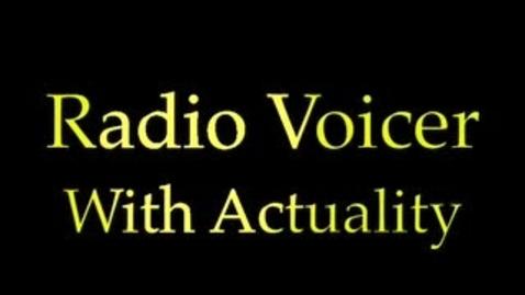 Thumbnail for entry Radio News Voicer Sample