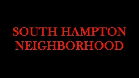 Thumbnail for entry South Hampton Neighborhood