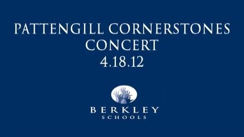 Thumbnail for entry Pattengill Cornerstones Concert 4/18/12