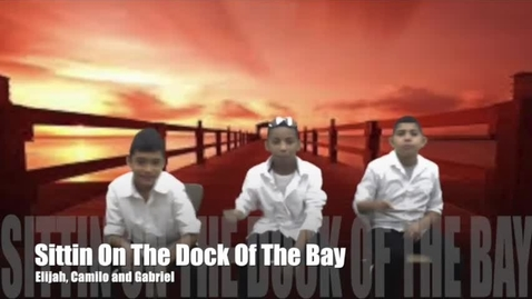 """Thumbnail for entry PS117's Got Talent - May 2016 - """"Sittin' On The Dock Of The Bay"""" performed by Three Young Artists (Originally performed by Otis Redding)"""