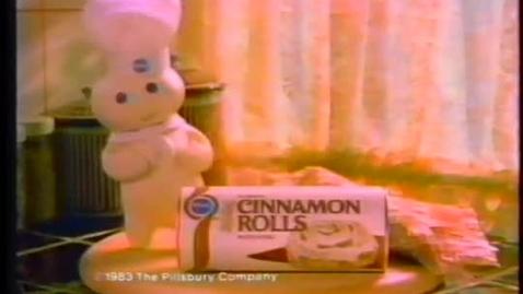 Thumbnail for entry Pillsbury Cinnamon Rolls 1983