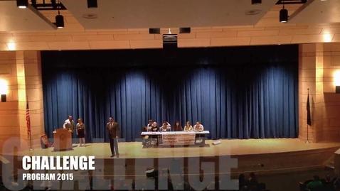 Thumbnail for entry 2015 Challenge Program