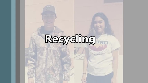 Thumbnail for entry Recycling