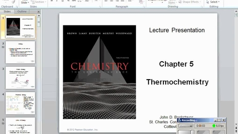 Thumbnail for entry Stephens AP Chemistry: (12-5-14) Thermochemistry 5.1 and 5.2