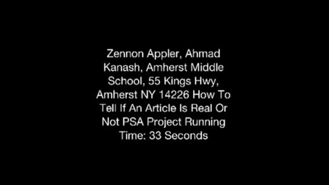 Thumbnail for entry Ahmad And Zennon REALLY? Project