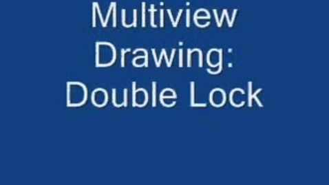 Thumbnail for entry Drafting: Double Lock