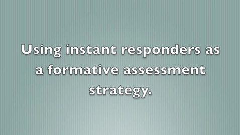 Thumbnail for entry Instant Response Systems