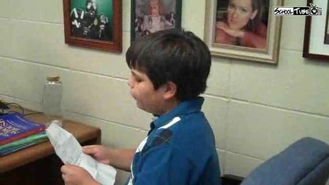 Thumbnail for entry Interview With Principal For The Day