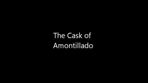 Thumbnail for entry The Cask of Amontillado | Antonio Carrozza Adaption |