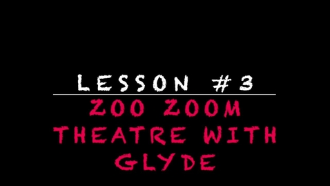 Thumbnail for entry Lesson #3 - two hand puppets