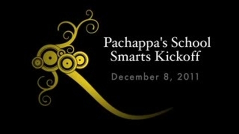 Thumbnail for entry School Smarts Kick-Off