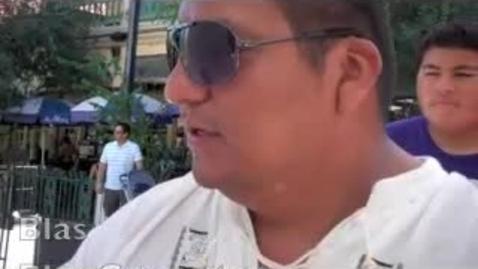 Thumbnail for entry TAJE Fall Fiesta San Antonio Robert Blas Caracatures of New Caney HS