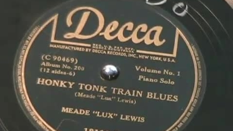 Thumbnail for entry HONKY TONK TRAIN BLUES - Meade Lux Lewis