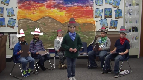 Thumbnail for entry Cowboy Christmas by Mrs. Flora's 3rd Grade Class