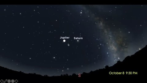 Thumbnail for entry Fernbank Science Center: The Sky This Week Oct. 3-9