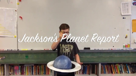 Thumbnail for entry Jackson's Planet Report