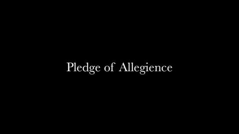 Thumbnail for entry Pledge of Allegiance