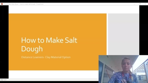 Thumbnail for entry how to make salt dough.webm