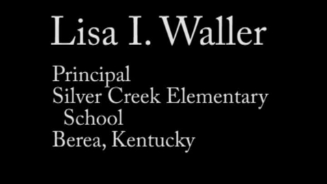 Thumbnail for entry Zone 5 Candidate Lisa I. Waller