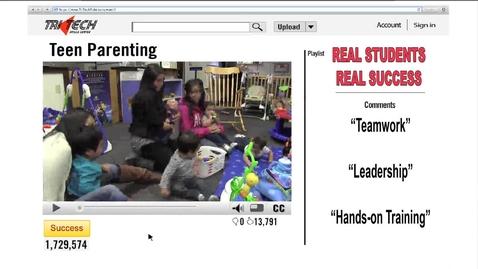 Thumbnail for entry Tri Tech Teen Parenting 2014-2015