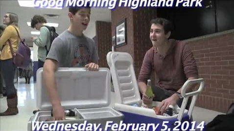 Thumbnail for entry Wednesday, February 5, 2014