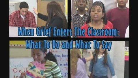 Thumbnail for entry Grief Resource Center's in the Rochester City School District