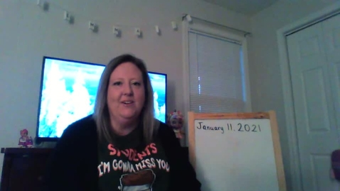 Thumbnail for entry Mrs. Darnell January 11, 2021