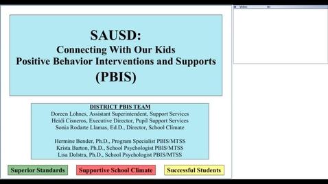 Thumbnail for entry August 22, 2013 Staff Development-PBIS Teacher Training