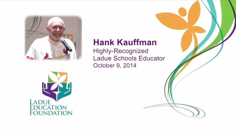 Thumbnail for entry Hank Kauffman - LEF address