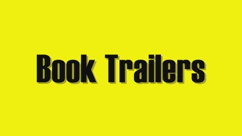 Thumbnail for entry Book Trailer Intro