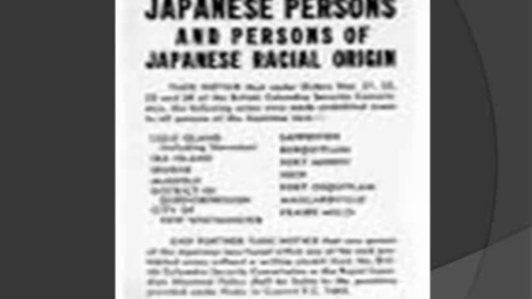 Thumbnail for entry Japanese Internment Camps