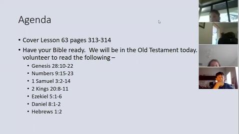 Thumbnail for entry Lesson 63 - Hebrews (pp 313-314)