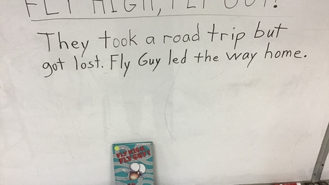 Thumbnail for entry Story Sentences for 'Fly High,  Fly Guy'