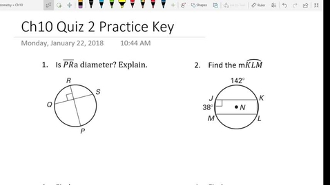 Thumbnail for entry Ch 10 Quiz 2 Practice