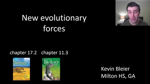Thumbnail for entry Additional evolutionary forces