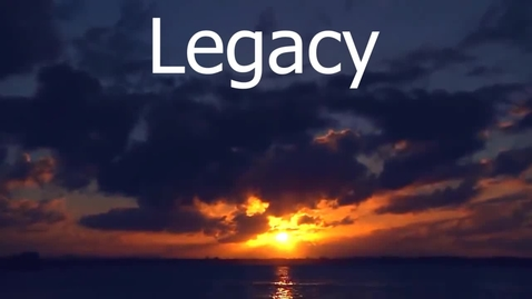 Thumbnail for entry Legacy - WSCN (PTV 2 2018-2019)
