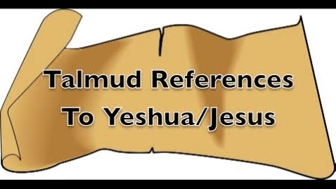 Thumbnail for entry Talmud References to Jesus
