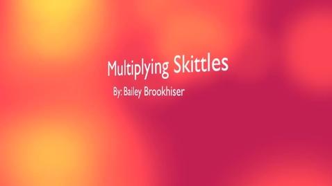 Thumbnail for entry Multiplying Skittles Bailey